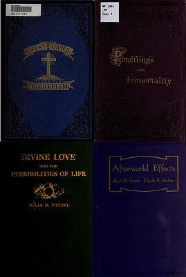 300 Rare Books On Spirits, Medium, Séances, Communication With The Dead On Dvd 6