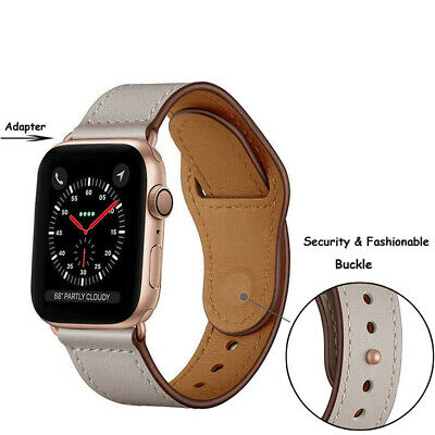 【Genuine Leather】Apple Watch Band Strap for iWatch Series 4 3 2 1 38 42 40 44mm 3