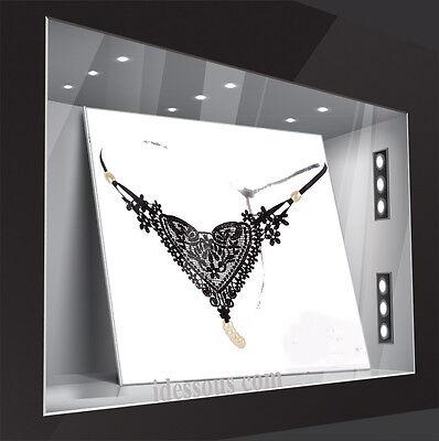 LA FERANI Sexy Glas Perlen String Tanga Hot OUVERT Slip Dessous Panty S M L XL 3