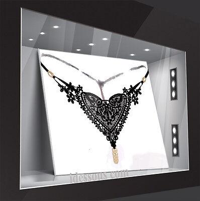 LA FERANI Sexy Glas Perlen String Tanga Hot OUVERT Slip Dessous Panty S M L XL 2