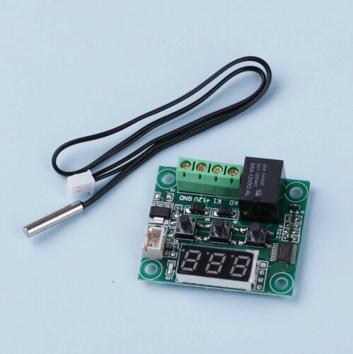 Mini -50-110°C W1209 Digital thermostat Temperature Control Switch 12V sensor I
