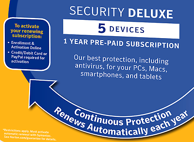 Norton Internet Security DELUXE 2020 5 Devices 1 Year - *5 Min Delivery by Email 3