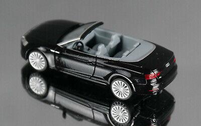f5 - NOIR Métallisé 038768-1:87 Herpa-audi a5 cabriolet