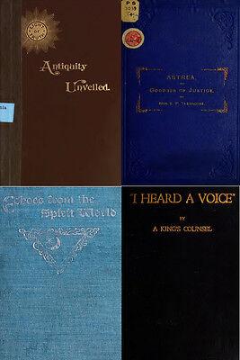 300 Rare Books On Spirits, Medium, Séances, Communication With The Dead On Dvd 4