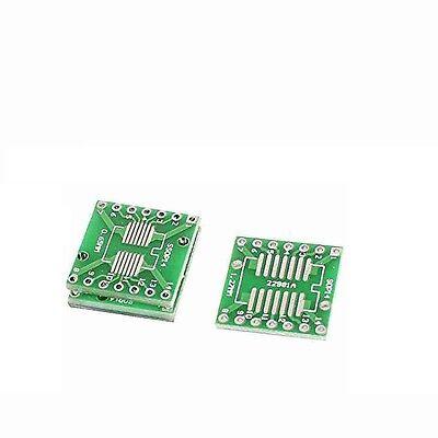 20Pcs Adapter Pcb Board Converter 0.65//1.27// SOP14 SSOP14 TSSOP14 Dip 2.54MM bh