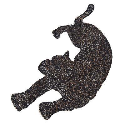 Patches Leopard Panter DIY Aufnäher Kleidung Jeans Flicken Deko 2stk Patch Chic 5