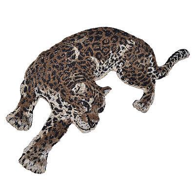 Patches Leopard Panter DIY Aufnäher Kleidung Jeans Flicken Deko 2stk Patch Chic 3