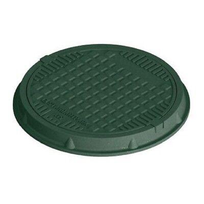 Schachtdeckel Kl:A15 DN600 Grün Schachtabdeckung Kontrollschacht zum Aufklappen