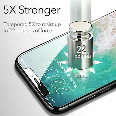 Tempered Glass Screen Protector & Cover For iPhone XS Max XR XS 11 Pro SE 2020 3