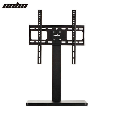 UNHO Pedestal TV Stand Tabletop Monitor Screen Desk Stand Riser for LCD LED Flat Panel Screens 17-42 VESA 200x200 Loading Weight up to 55 lbs