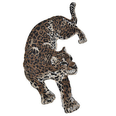 Patches Leopard Panter DIY Aufnäher Kleidung Jeans Flicken Deko 2stk Patch Chic
