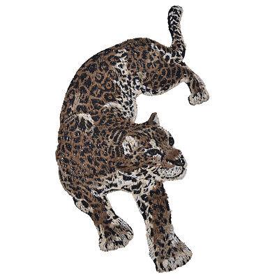 Patches Leopard Panter DIY Aufnäher Kleidung Jeans Flicken Deko 2stk Patch Chic 6