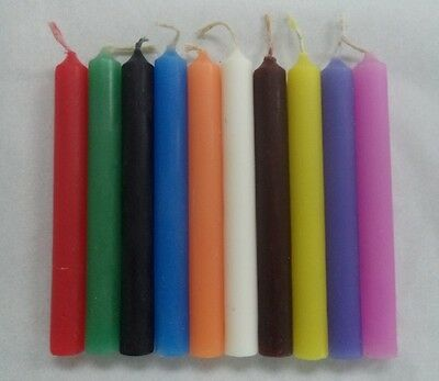 """WHOLESALE LOT OF 50 MINI 4"""" CHIME SPELL CANDLES (Altar Wicca Pagan Magick) 2"""