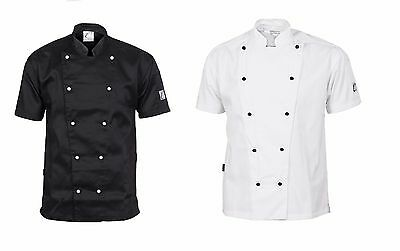 Traditional Chef Jacket Short Sleeve DNC Work Wear 1101 3