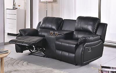 Leder Fernsehsofa Relaxsessel Fernsehsessel Schlaffunktion 5129 1