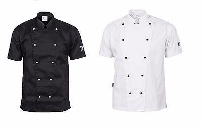 Traditional Chef Jacket Short Sleeve DNC Work Wear 1101 5