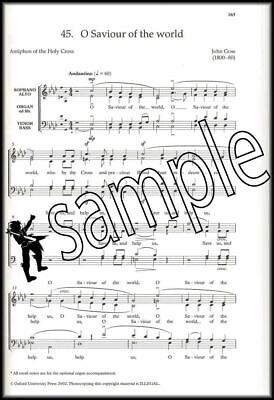 The New Oxford Easy Anthem Book Vocal Choral Sheet Music SATB SAME DAY DISPATCH 4