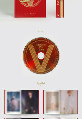 WAYV TAKE OVER THE MOON 2nd Mini Album CD+POSTER+Photo Book+2p Card K-POP SEALED 6