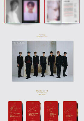WAYV TAKE OVER THE MOON 2nd Mini Album CD+POSTER+Photo Book+2p Card K-POP SEALED 7