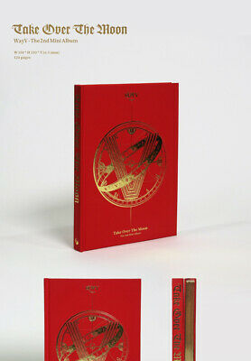 WAYV TAKE OVER THE MOON 2nd Mini Album CD+POSTER+Photo Book+2p Card K-POP SEALED 5
