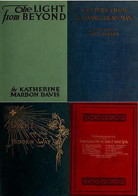 300 Rare Books On Spirits, Medium, Séances, Communication With The Dead On Dvd 3