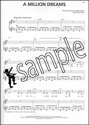 The Greatest Showman Music Minus One Vocals Sheet Music Book/Audio Voice Vocal 3