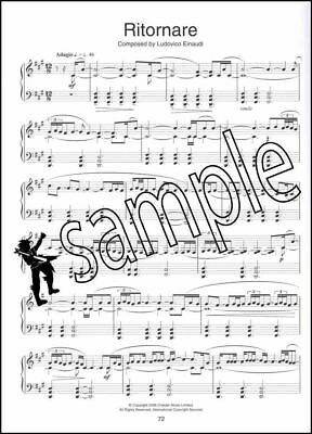 Divenire Ludovico Einaudi Sheet Music Piano Solo NEW 014019532