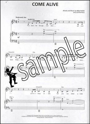 The Greatest Showman Music Minus One Vocals Sheet Music Book/Audio Voice Vocal 2
