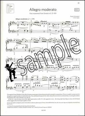 ABRSM Piano Exam Pieces 2019 2020 Syllabus Grade 8 Sheet Music Book Tests Songs 3