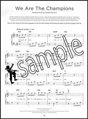 Bohemian Rhapsody Easy Piano Music Book Queen Movie Sountrack SAME DAY DISPATCH