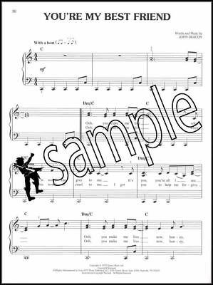QUEEN EASY PIANO Collection Sheet Music Book Bohemian