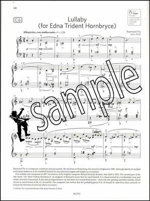 ABRSM Piano Exam Pieces 2019 2020 Syllabus Grade 8 Sheet Music Book Tests Songs 4
