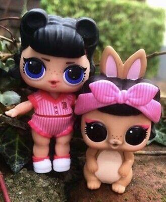 LOL Surprise PETS ShortStop Bunny Confetti Pop Dolls Pet Short Stop Hop Rabbit 6