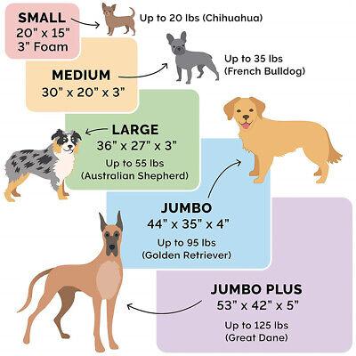 Extra Large Jumbo Orthopedic Pet Dog Bed Dog Pillow Baskets Kennel Waterproof AU 5