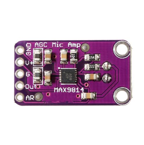 MAX9814 Elektret Mikrofon Verstärker Modul Auto Gain Control für Arduino 4