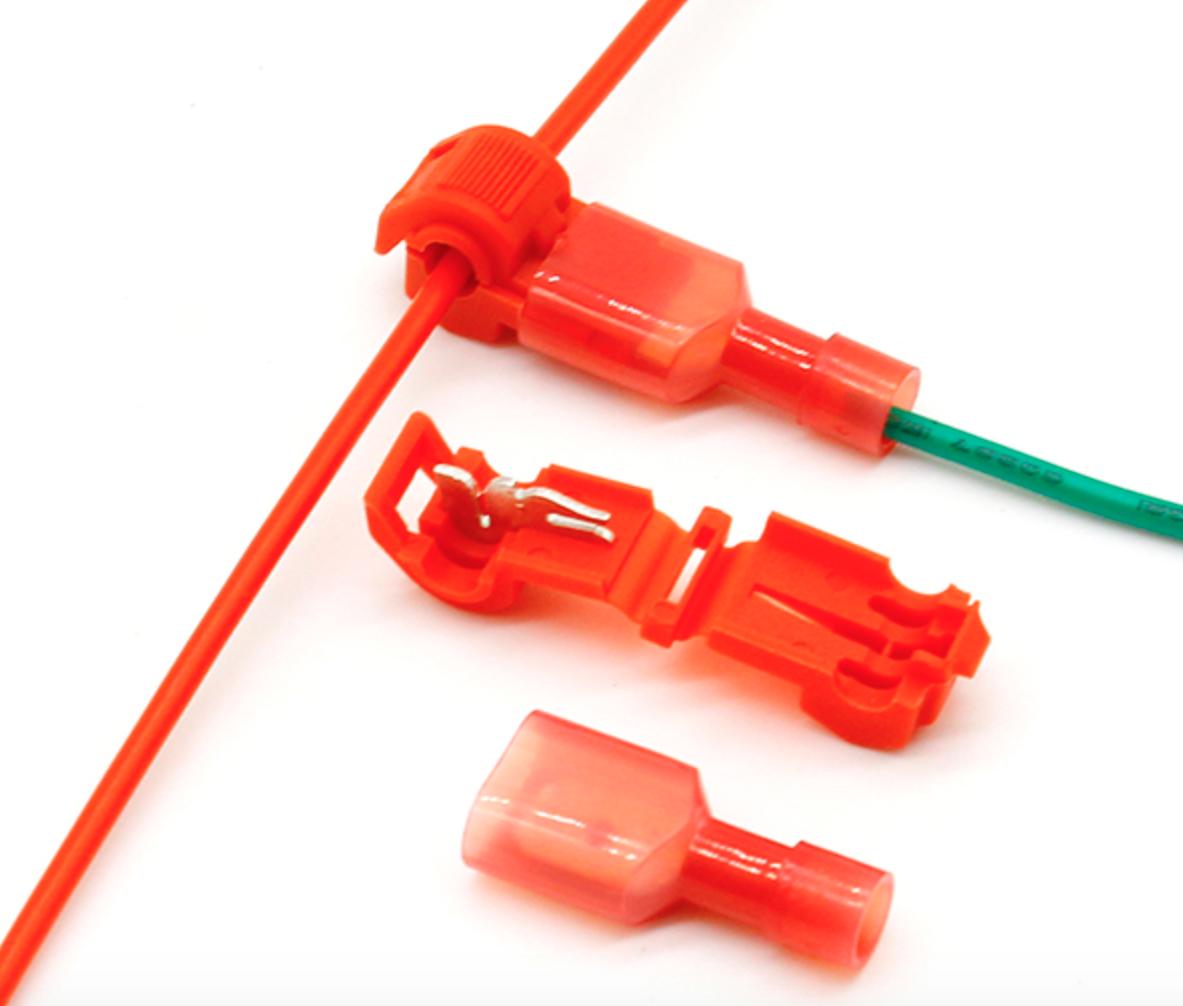 5 Cosses de pontage connecteurs rapide électriques isolés plug connect