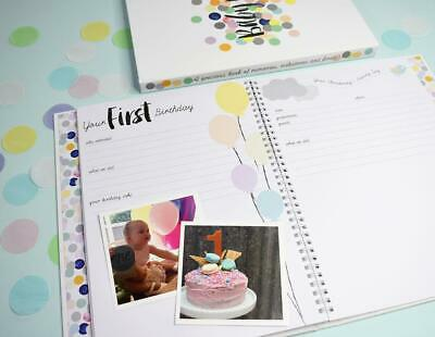 NEW Rhicreative Special Edition Baby Book Gift Keepsake Photo Memories & Firsts 7