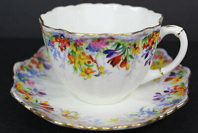 Paragon Daisy Vintage Bone China Tea Cup and Saucer Floral Flowers England 3