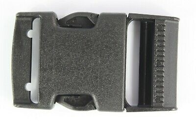 Side Release Buckles Black Plastic Clips Belts Rucksacks  Replacement All Sizes 4