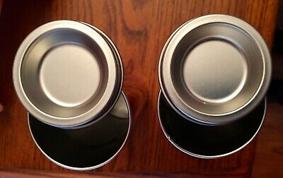 """2 Life Savers Metal Collectible Tins Cherry & Butter Rum Room Decor, 7"""" Tall 3"""