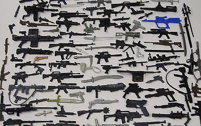 Random lot  OF 20 GI JOE Cobra Ninja figure/'s diffrerent Accessories weapons