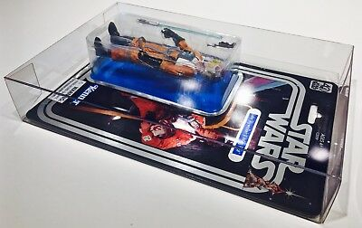 1 Clear Protector For CELEBRATION LUKE X-WING STAR WARS 40TH Display Case Box 8