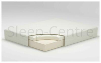 "Lavish Memory Foam Orthopaedic Mattress 3Ft,4Ft,4Ft,5Ft,6Ft + 6"",8"",10"",12"" Dept 2"