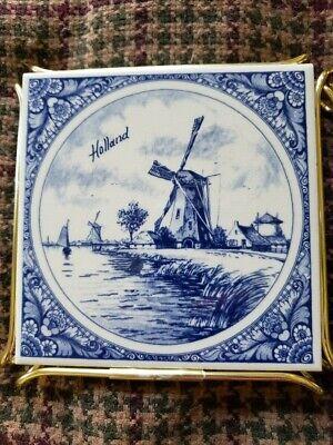 Set Of 3 Blue Delft Royal Copenhagen Provimi Veal Trivits