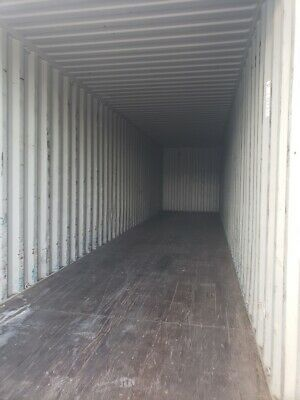 Used 40' High Cube Shipping Container New Orleans, Louisiana 5