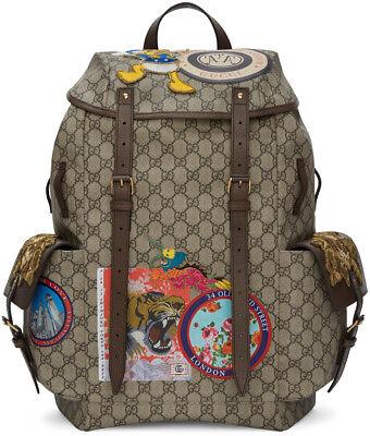 5aeb2de5253 ... Gucci Beige GG Supreme Disney Donald Duck Backpack 460029-K5I7T-8854  NEO 6