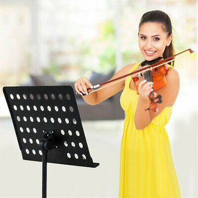 Adjustable Height Music Stand Note Holder Base Tripod Orchestral Conductor Sheet 2