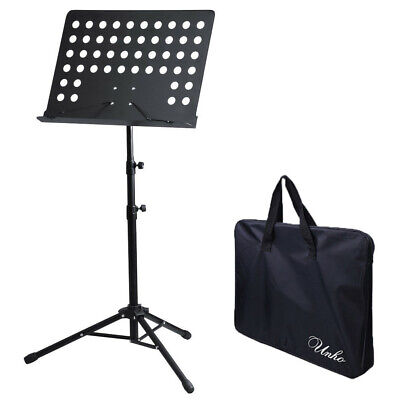 Adjustable Height Music Stand Note Holder Base Tripod Orchestral Conductor Sheet 7
