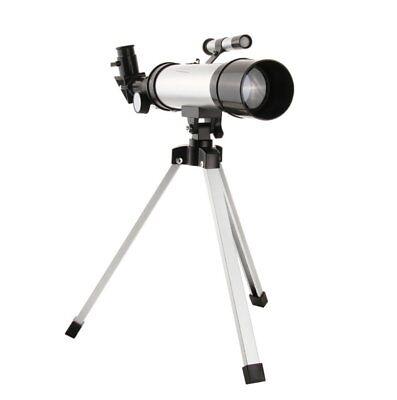 Telescopio Monoculare Astronomico Rifrangente Con Treppiede Cavalletto Stelle 4