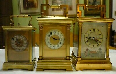 Antique  Couaillet  French Repeater Carriage Clock Around 1870/1900 2